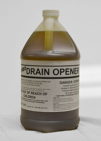 Hospital Alkali Drain Opener Highly Concentrated In Quart